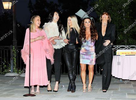 Kathy Hilton, Crystal Kung Minkoff, Dorit Kemsley, Kyle Richards, Lisa Rinna