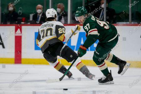 Editorial photo of Golden Knights Wild Hockey, Saint Paul, United States - 26 May 2021
