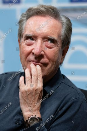 the journalist Iñaki Gabilondo during a conference on the writer Miguel Delibes at the National Library of Madrid.November 10, 2020 Spain
