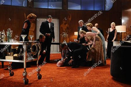 Editorial photo of 'Agatha Christie : Poirot - Three Act Tragedy' TV Programme. - 2010