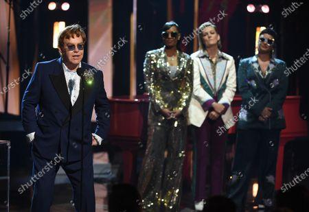 Sir Elton John, H.E.R., Brandi Carlile, Demi Lovato