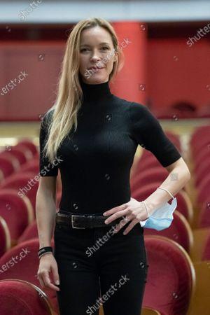 Editorial image of Maria Esteve Portrait Session, Madrid, Spain - 16 Oct 2020