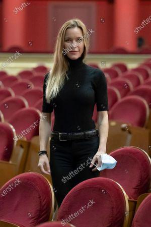 Editorial photo of Maria Esteve Portrait Session, Madrid, Spain - 16 Oct 2020