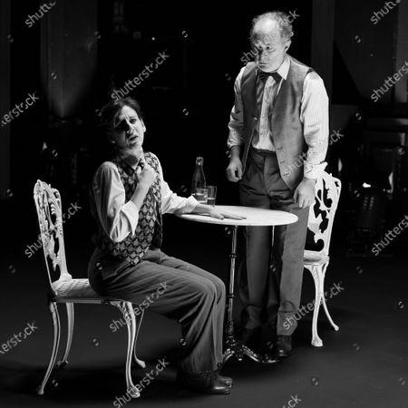 Editorial image of 'Los que hablan' Theatre Play In Madrid, Spain - 21 Oct 2020
