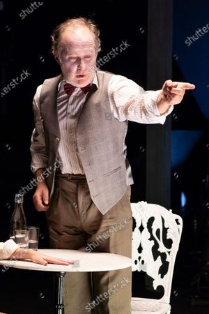 Editorial picture of 'Los que hablan' Theatre Play In Madrid, Spain - 21 Oct 2020