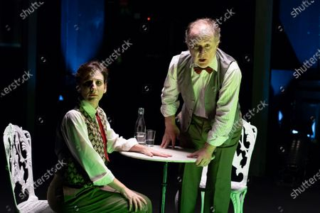 Editorial photo of 'Los que hablan' Theatre Play In Madrid, Spain - 21 Oct 2020