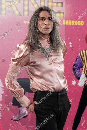 "Mario Vaquerizo attends to 'La Ultima Tourne"" premiere at Teatro Calderon on October 29, 2020 in Madrid, Spain"