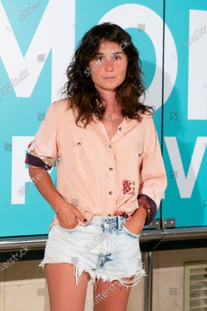 Stock Picture of Nadia de Santiago poses for the photographer during the premier of the film Amor en Polvo (Powdered Love) in Madrid, Spain, 22 July 2020. The film, shot in 17 days, will open in Spanish cinemas on next 24 July.