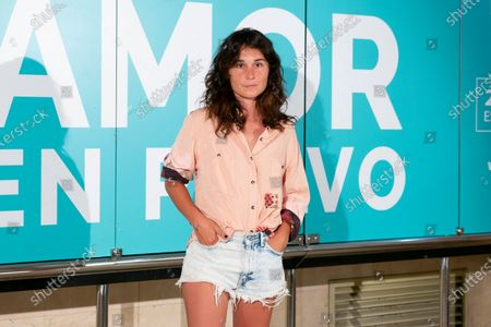 Nadia de Santiago poses for the photographer during the premier of the film Amor en Polvo (Powdered Love) in Madrid, Spain, 22 July 2020. The film, shot in 17 days, will open in Spanish cinemas on next 24 July.