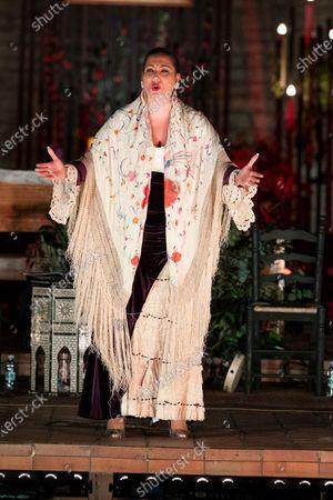 Editorial image of Marina Heredia Performance In Madrid, Spain - 30 Dec 2020