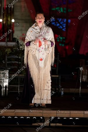 Editorial picture of Marina Heredia Performance In Madrid, Spain - 30 Dec 2020