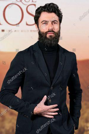 Actor Javier Rey attends `El Verano Que Vivimos' photocallon at the Four Seasons Hotel on December 03, 2020 in Madrid, Spain.