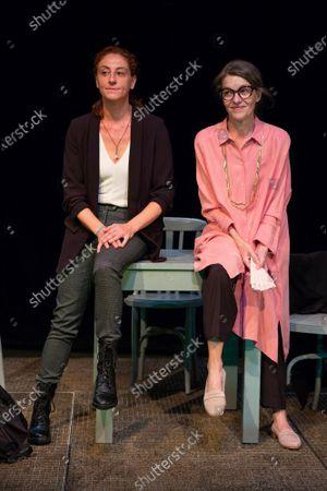 Actress Nuria Mencia and Nuria Gonzalez