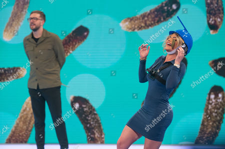 Stock Picture of Iain Stirling and Megan Barton Hanson.