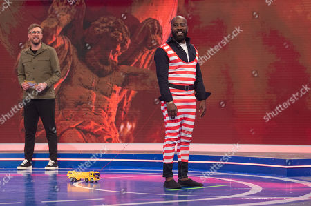 Editorial photo of 'Iain Stirling's CelebAbility' TV Show, Series 5, Episode 1, UK - 03 Jun 2021