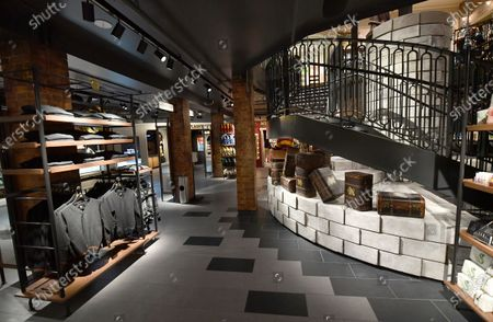 A general view of atmosphere of the new Harry Potter Store  on 22nd and Broadway in New York City. The store opens to the public on June 3rd, 2021.
