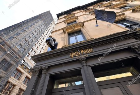 Stock Photo of A general view of atmosphere of the new Harry Potter Store  on 22nd and Broadway in New York City. The store opens to the public on June 3rd, 2021.