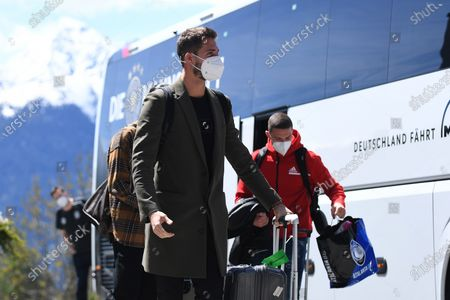 Arrival Kevin Trapp (Germany) at the team hotel Nidum Casual Luxury Hotel