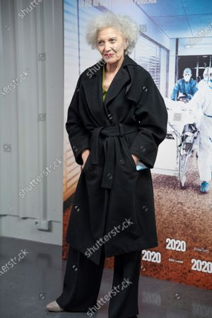 """Marisa Paredes attends premiere """"2020"""" documentary film of Hernán Zin, premiere at Wizink Center on November 26, 2020 in Madrid, Spain."""