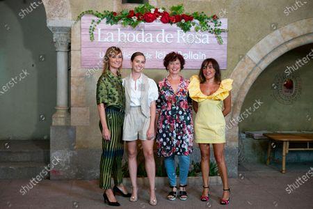 (L-R) Nathalie Poza, Paula Usero, Iciar Bollain and Candela Pena