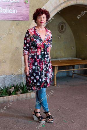 Spanish director Iciar Bollain attends 'La Boda De Rosa' photocall on August 18, 2020 in Madrid, Spain