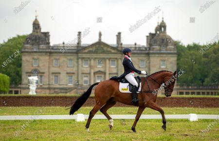 Editorial photo of Saracen Horse Feeds, Houghton International Horse Trials - Day 2, Houghton Hall, Norfolk. UK. 28 MAY 2021