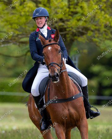 Editorial image of Saracen Horse Feeds, Houghton International Horse Trials - Day 2, Houghton Hall, Norfolk. UK. 28 MAY 2021