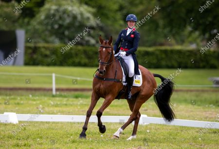 Editorial picture of Saracen Horse Feeds, Houghton International Horse Trials - Day 2, Houghton Hall, Norfolk. UK. 28 MAY 2021