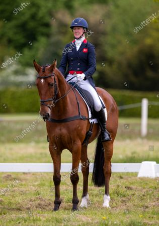 Nicola Wilson on Coolparks Sarco Top Notch in the dressage.