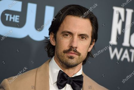 Milo Ventimiglia arrives at the 25th annual Critics' Choice Awards at the Barker Hangar in Santa Monica, Calif. Ventimiglia will serve as honorary starter for the 105th Indianapolis 500 presented by Gainbridge, waving the green flag and sending the field of 33 NTT INDYCAR SERIES drivers on their epic quest for racing glory