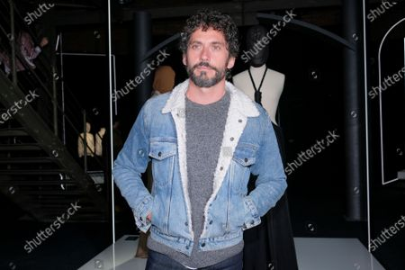Paco Leon attends David Delfin exhibition inauguration, in Madrid, Spain, on February 19, 2020.