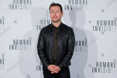 Australian director Leigh Whannell attends 'El Hombre Invisible' photocall at Villamagna Hotel on February 19, 2020 in Madrid, Spain.
