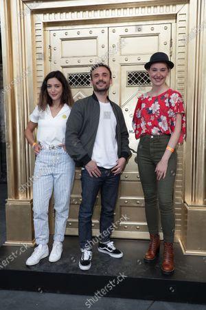 Vanessa Guide, Jerome Niel, Deborah Francois