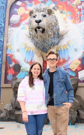 Stock Image of Tom and Giovanna Fletcher