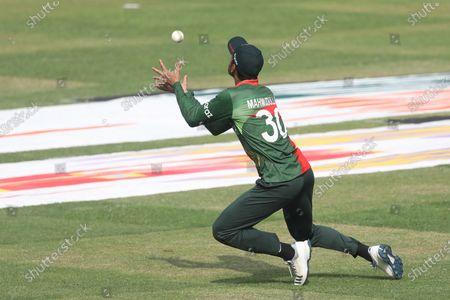 Bangladesh player Mahmudullah Riyad seen in action during the third and final one-day international (ODI) cricket match between Bangladesh and Sri Lanka at Sher-e-Bangla National Cricket Stadium in Dhaka.Final score; Bangladesh 2:1 Sri Lanka)