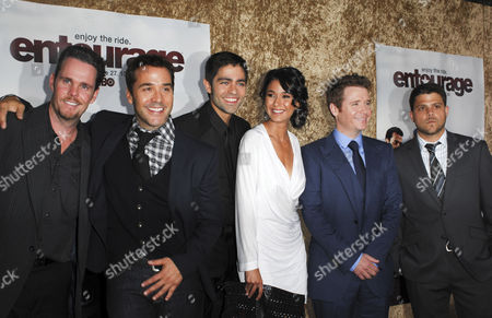 Kevin Dillon, Jeremy Piven, Adrian Grenier, Emmanuelle Chriqui, Kevin Connolly and Jerry Ferrera