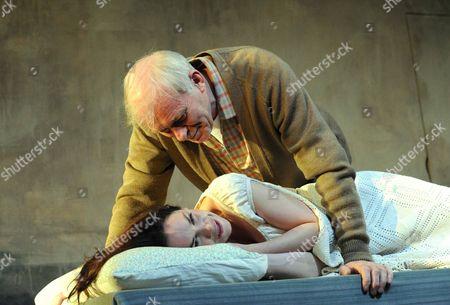 'Through A Glass Darkly' - Ruth Wilson as Karin and Ian McElhinney as David