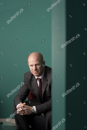 Editorial photo of Stephen Leonard, Chief Executive Officer of IBM UK at the company headquarters in London, Britain - 11 Jun 2010