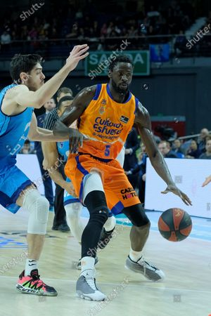 Editorial picture of Movistar Estudiantes v Valencia Basket - Liga ACB, Madrid, Spain - 09 Feb 2020
