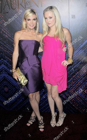 Stock Picture of Tinsley Mortimer and Daphne Mercer