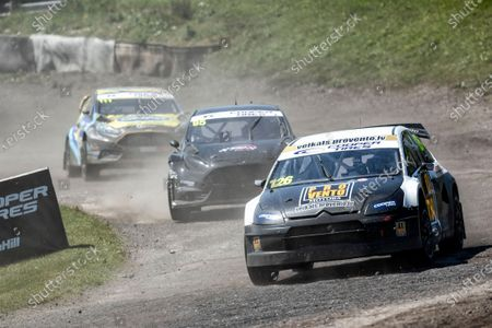 Robert Vitols, Citreon C4, BRX Supercars from Roger Thomas, Ford Fiesta WRX, BRX Supercars and Derek Tohill, Ford Fiesta MkVII, BRX Supercars during the 5 Nations BRX Championship at Lydden Hill Race Circuit on 29th May 2021
