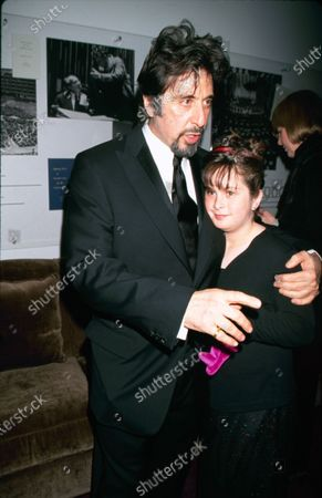 UNITED STATES - circa 2000: Actor Al Pacino with his daughter Julie Pacino.