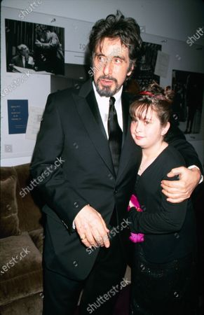 UNITED STATES - 2000: Actor Al Pacino with his daughter Julie Pacino.
