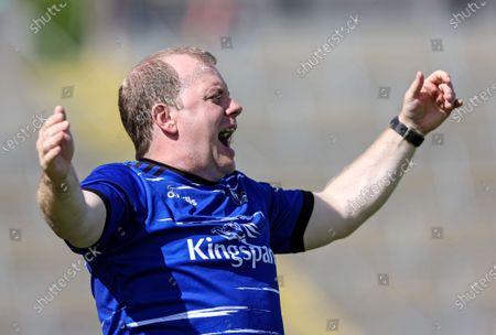 Cavan vs Derry. Cavan's Michael Graham