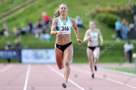 Women's 400m . Sophie Becker of Raheny Shamrock