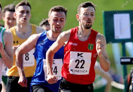 Mens 800m. John Fitsimmions of Naas AC