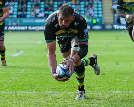 Editorial picture of Northampton Saints v Wasps, UK - 29 May 2021