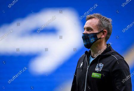 Dragons vs Glasgow Warriors. Glasgow Warriors Head Coach Danny Wilson