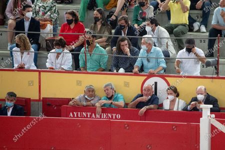 Princess Elena, Oscar Higares, Luis Cobos and Josema Yuste