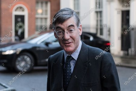 Stock Picture of Lord President of the Council and Leader of the House of Commons Jacob Rees-Mogg arrives in Downing Street in central London to attend Cabinet meeting held at the Foreign Office on 15 December, 2020 in London, England. The UK and EU leaders have agreed to carry on post-Brexit trade talks and vowed to go 'extra mile' to try and reach a deal, with less than three weeks until the end of the transition period.